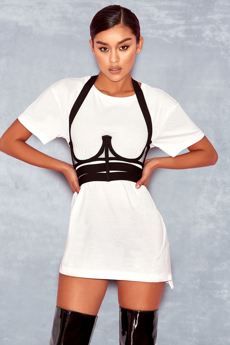 Shift Black Bandage Underwired Harness