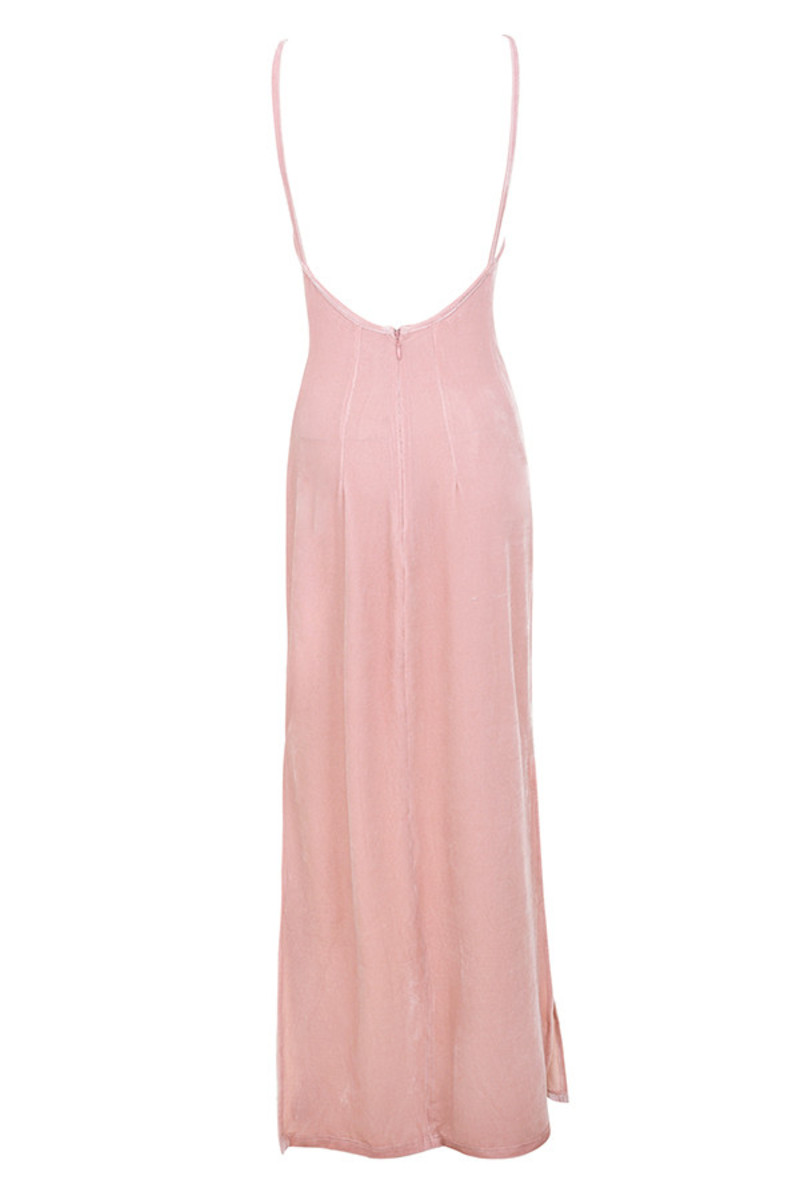 summer loving maxi in pink