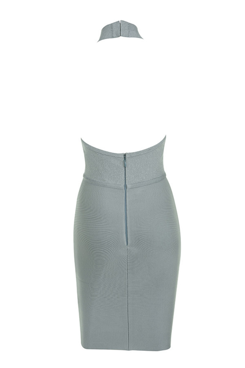sunshine dress in grey