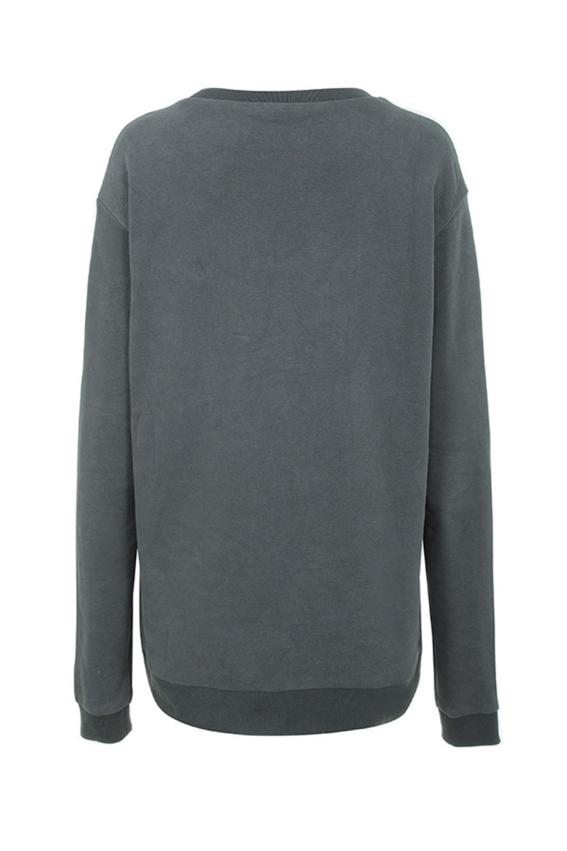 thug life top in grey