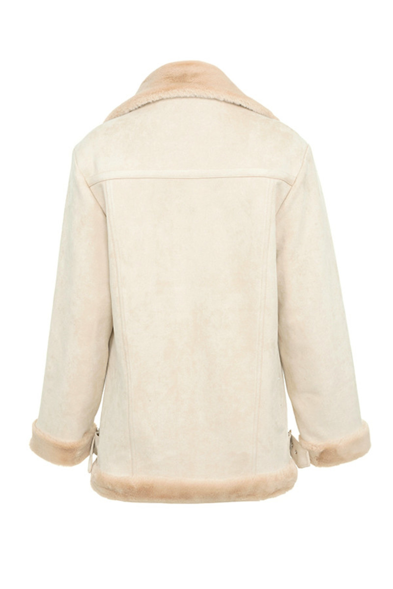 underworld jacket in cream