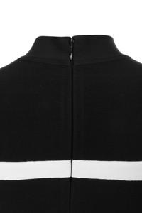 dejavu dress in black