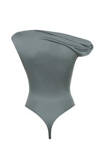 smackdown bodysuit in grey