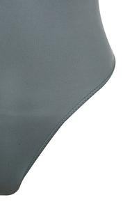 grey smackdown bodysuit