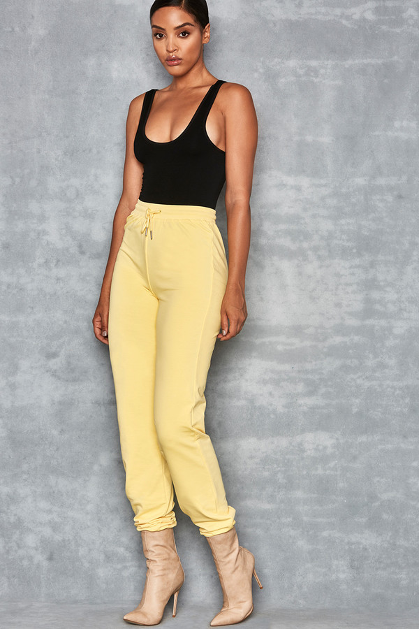 Going Strong Yellow Jersey Joggers
