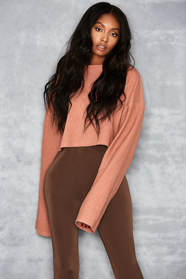 Rescue Rose Pink Oversized Sweat Top
