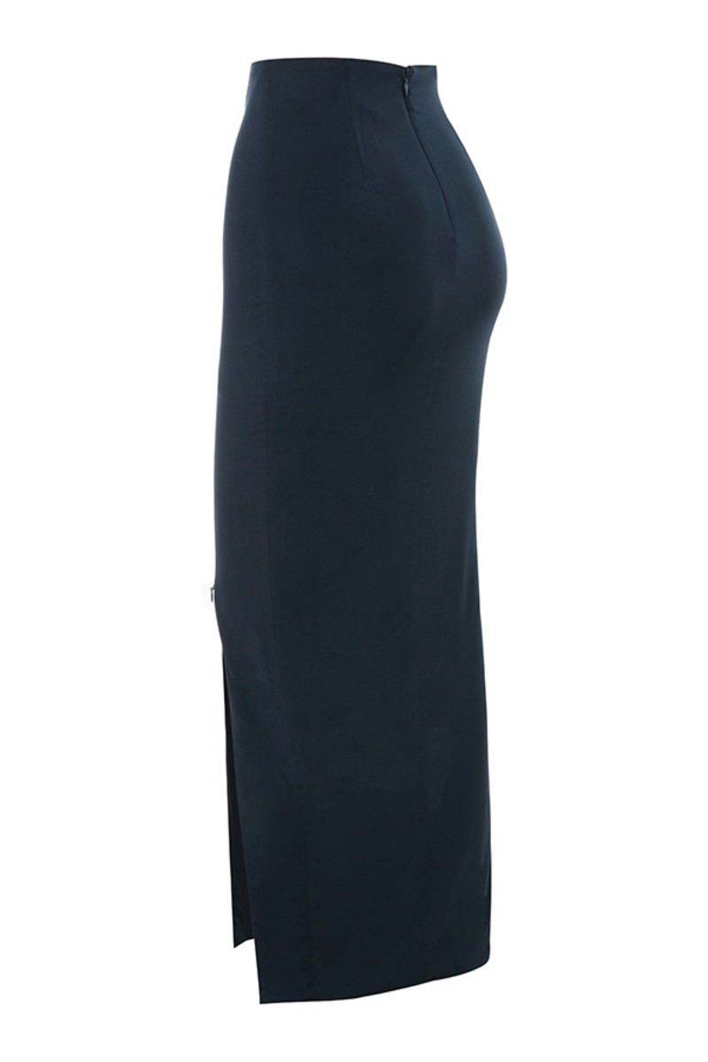 at ease in navy