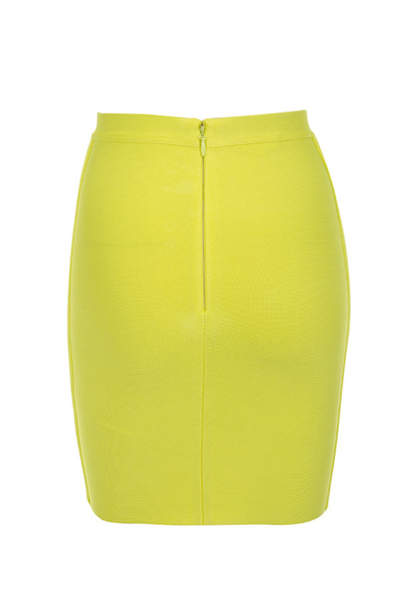 boss baby skirt in yellow