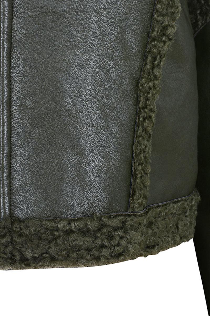 khaki combat jacket