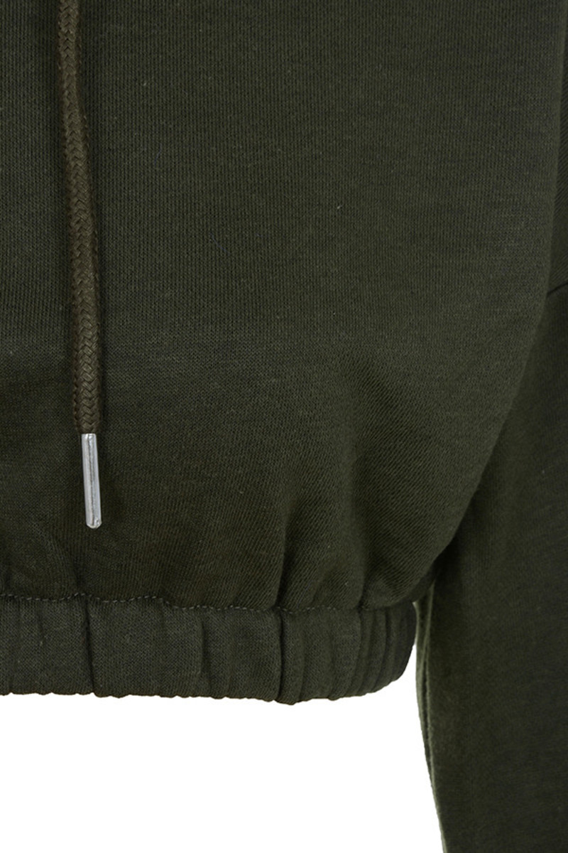 khaki desire hoodie