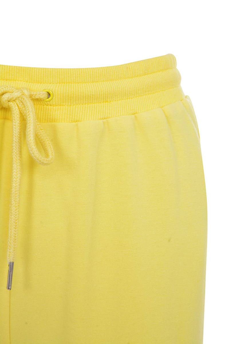 yellow going strong joggers