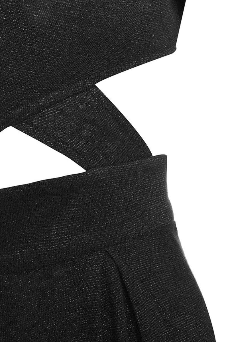 black hold me jumpsuit