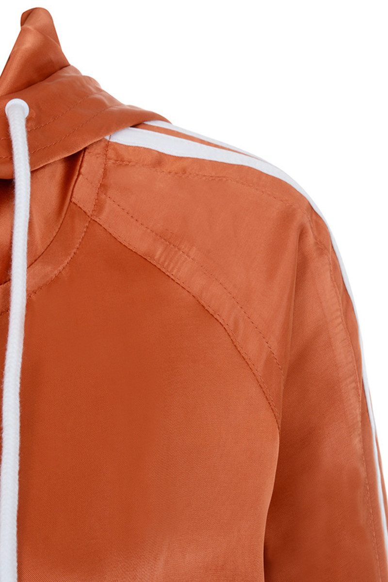 orange imagine parka