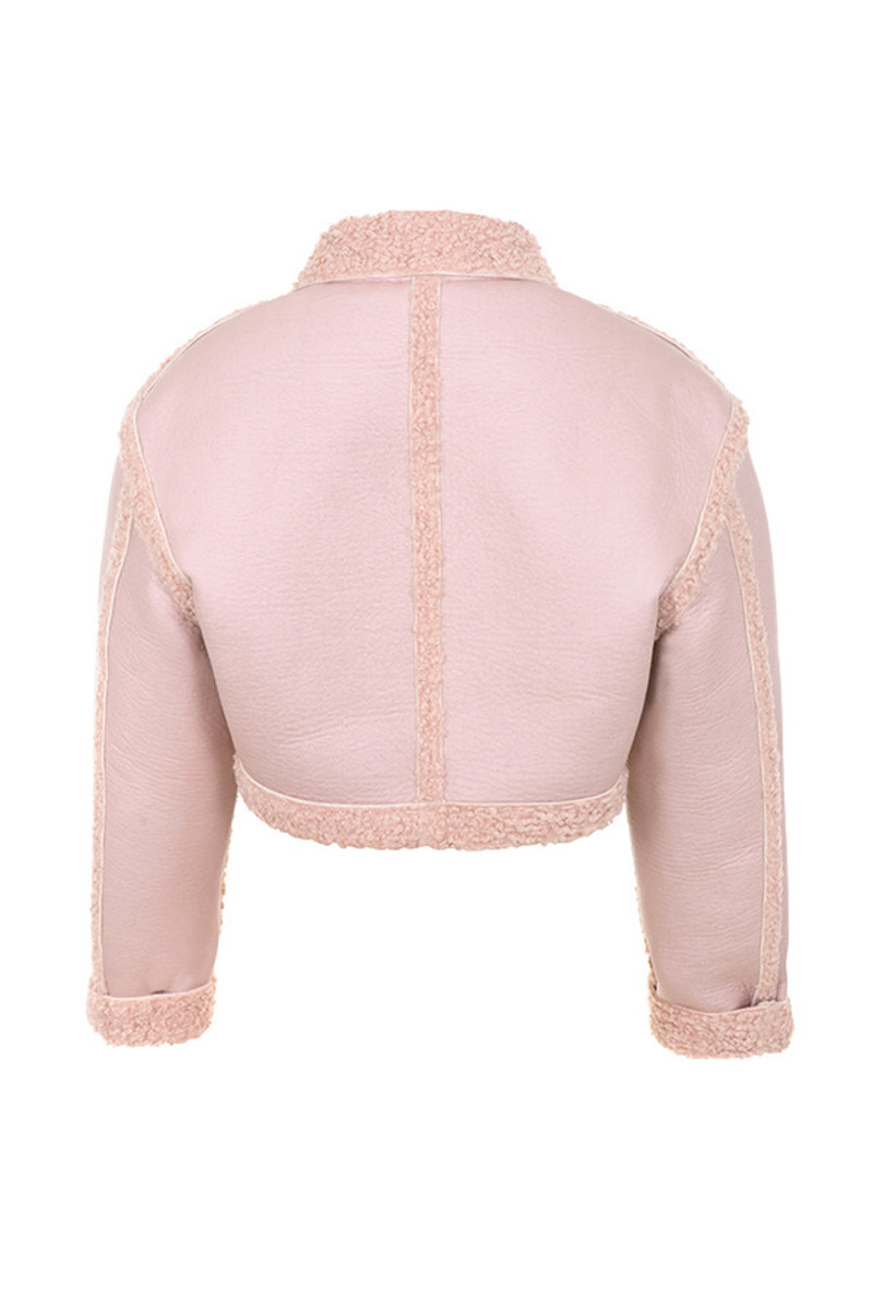 immortal jacket in pink