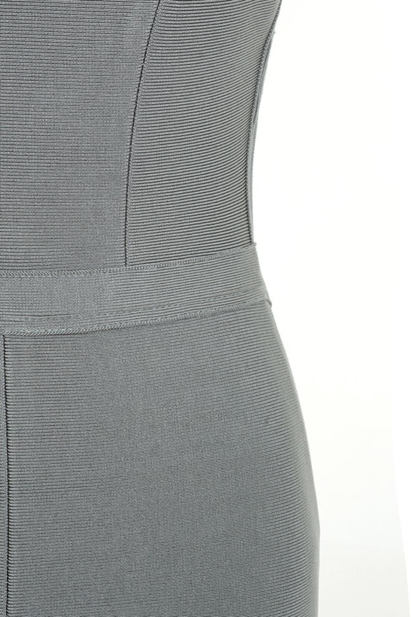 grey lavish dress