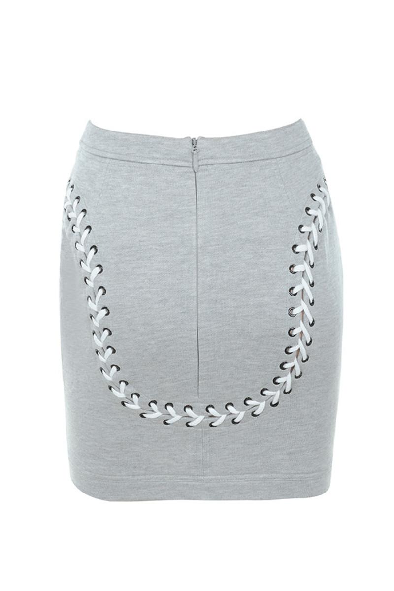 merci skirt in grey