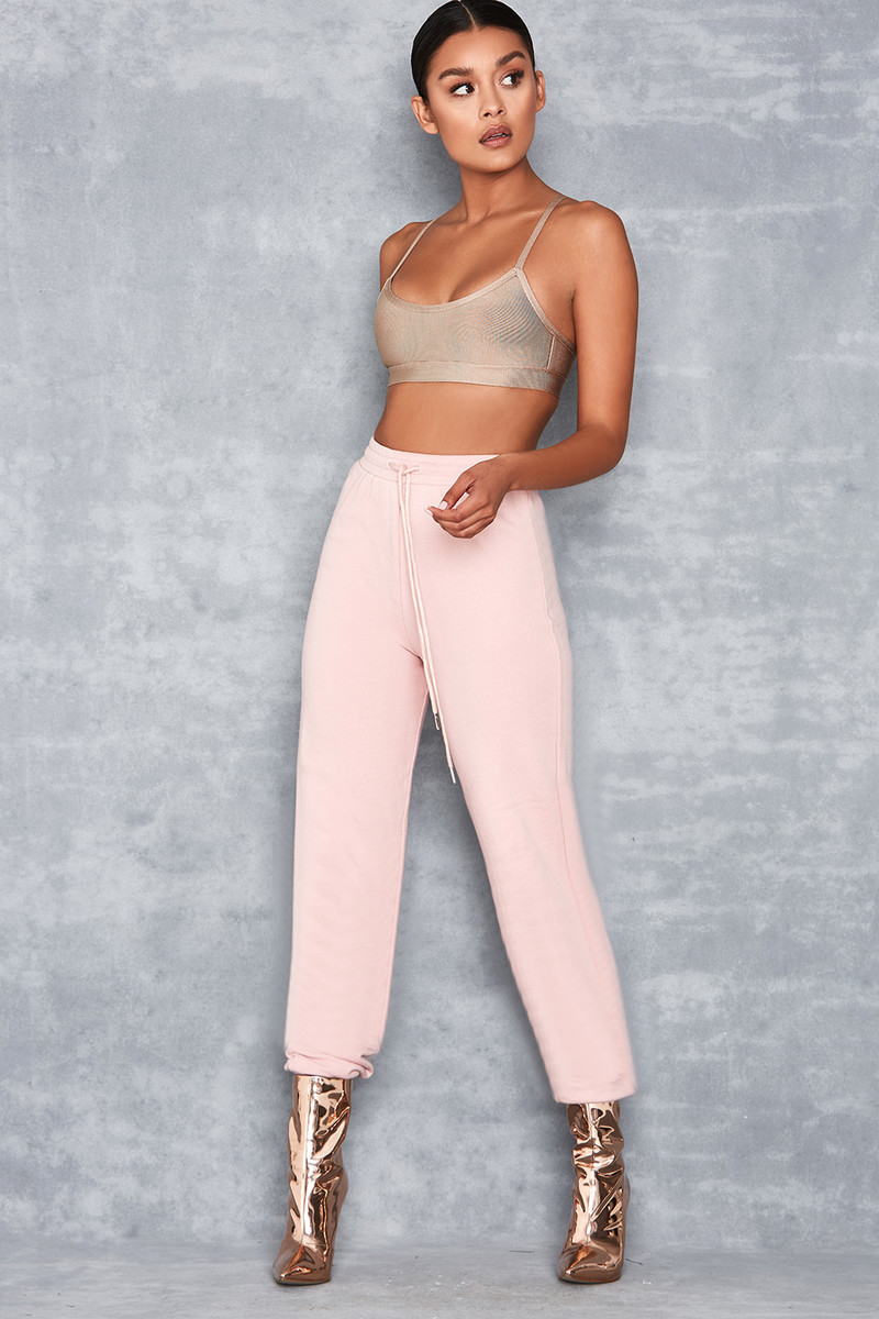 Saint Blush Pink Fitted Jogger