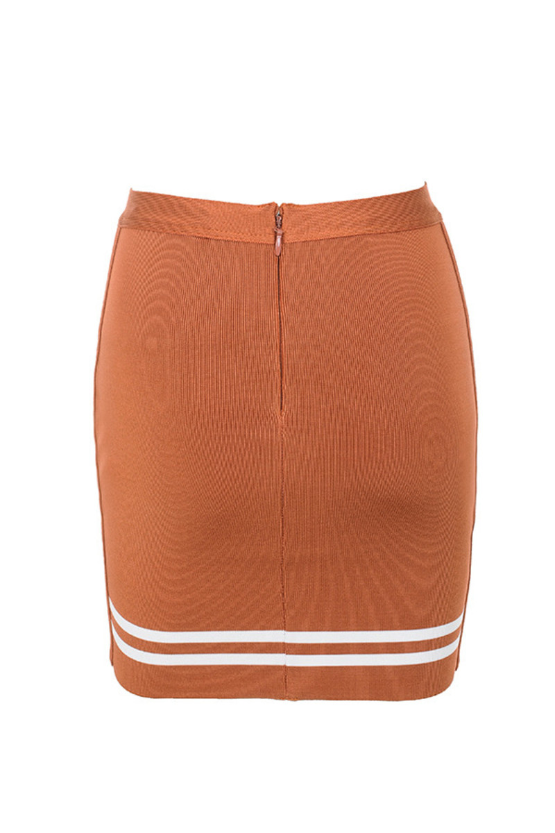 timeless skirt in tan