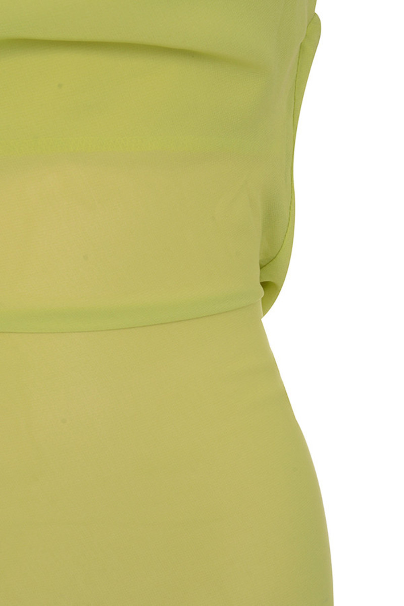 lime vacay dress