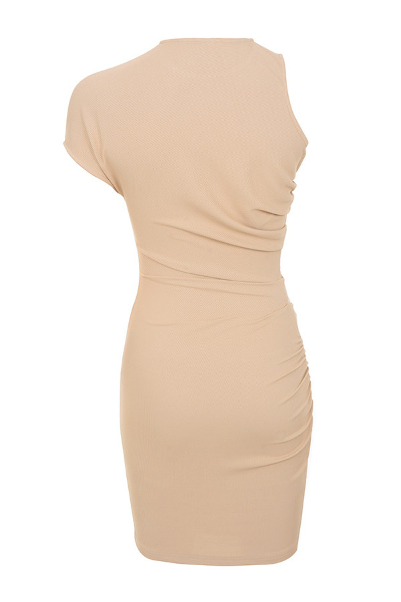 yunita dress in beige