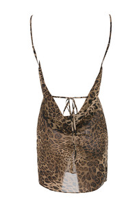 all out dress in leopard
