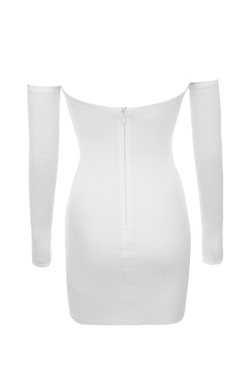 a game dress in off white