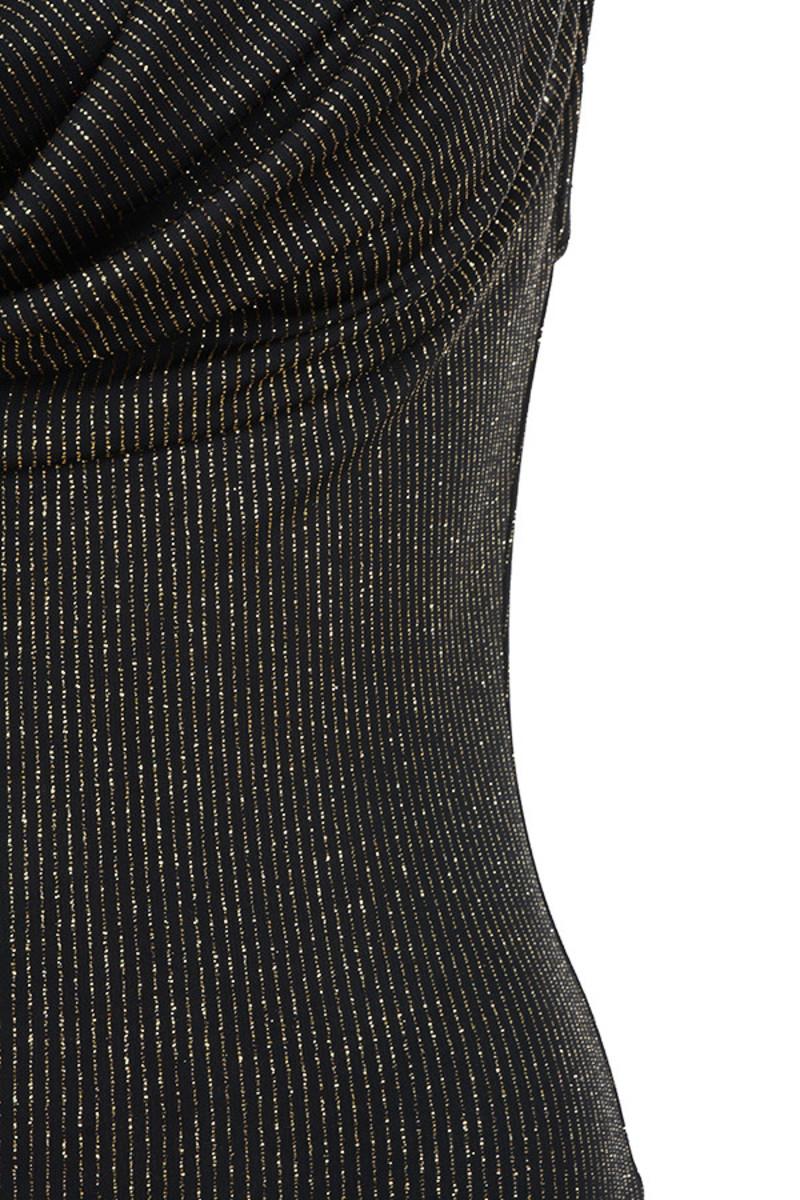 black agent dress