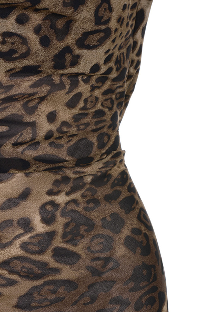 leopard all out dress