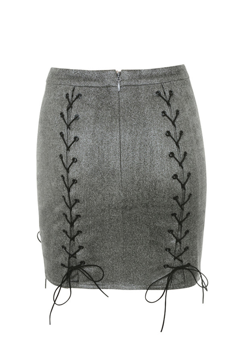 liberty skirt in grey