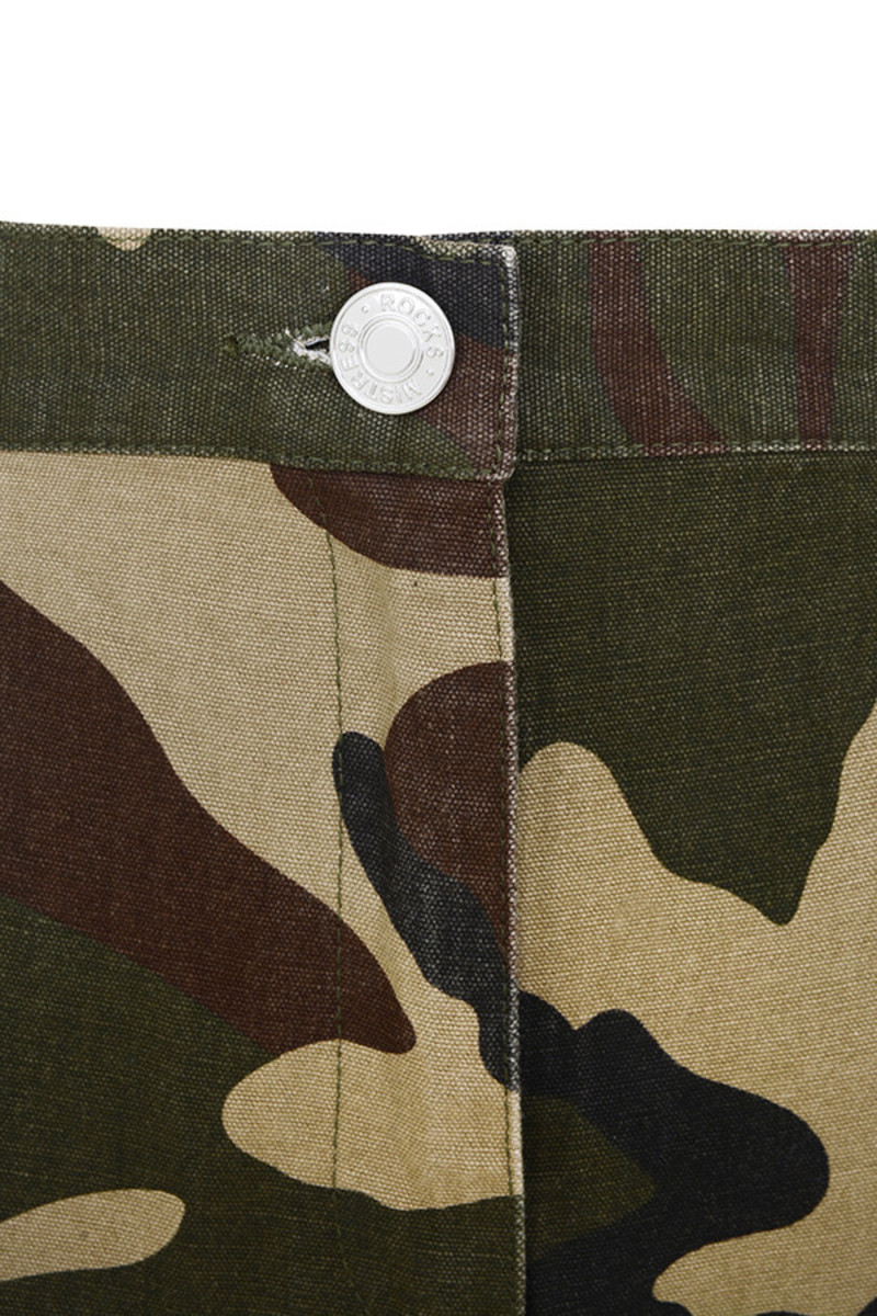 camo livestrong trousers