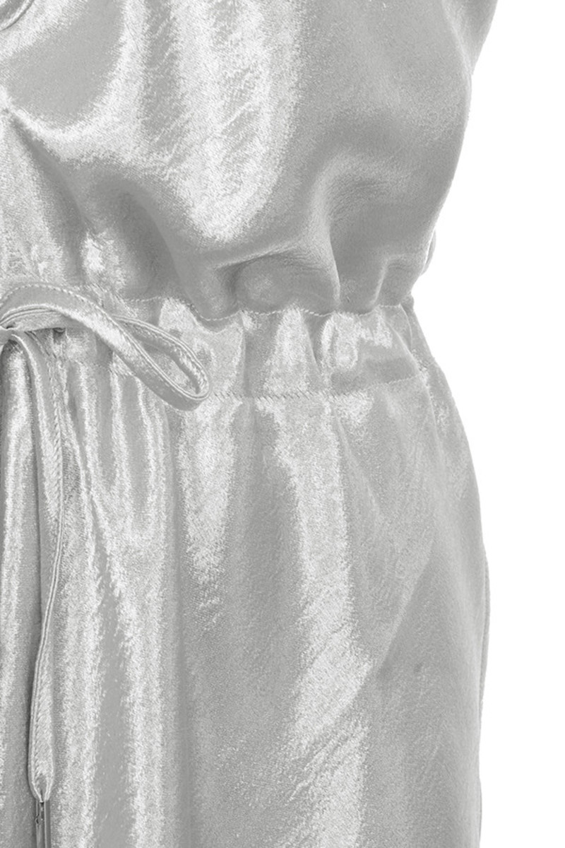 mirage romper in silver