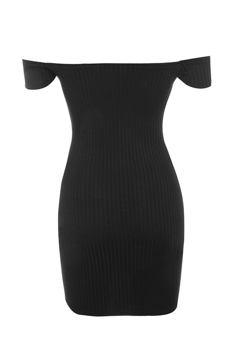 motown dress in black