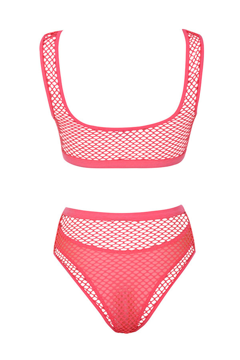 scorcher swimsuit in pink