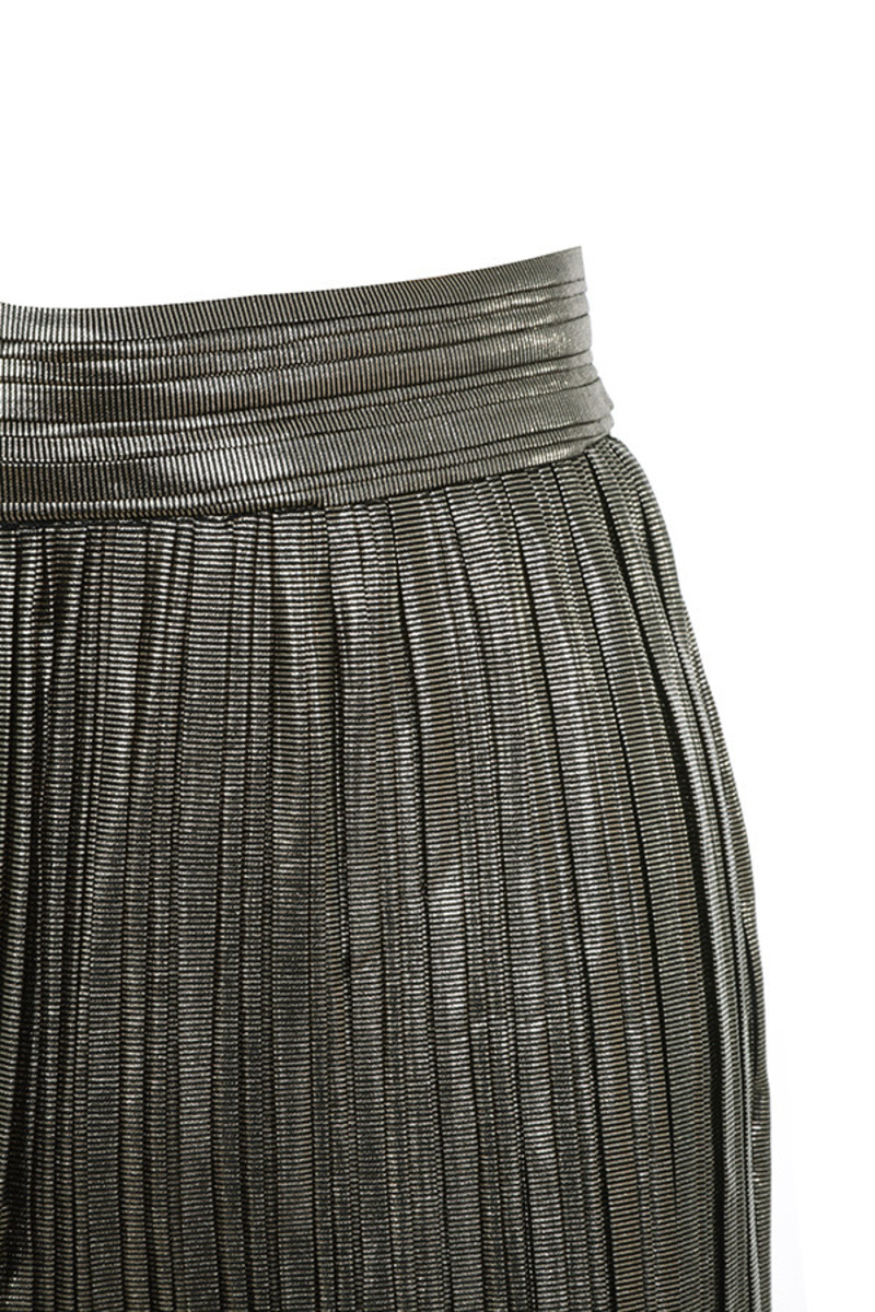 shimmy pants in pewter