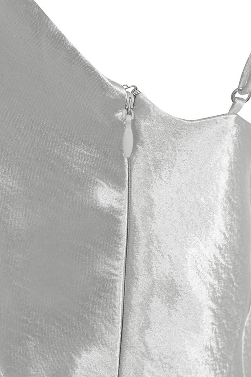 silver simplicity dress
