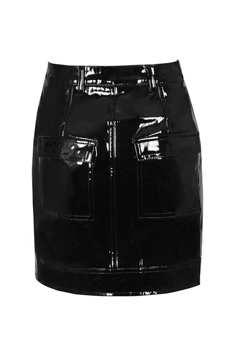 touch skirt in black