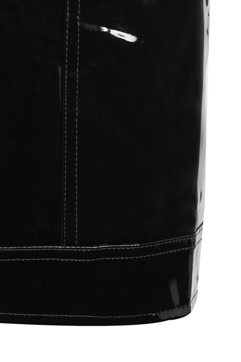 black touch skirt