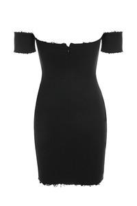 acclaim dress in black