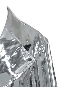 silver black label jacket