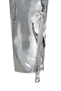 black label silver jacket