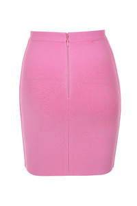 boss baby skirt in pink