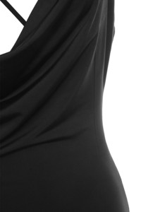 black thriller dress