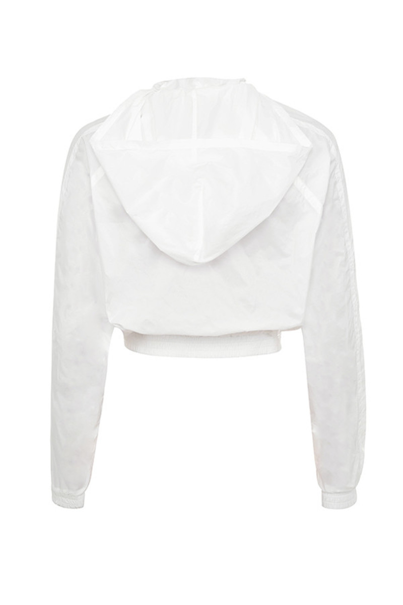 breeze jacket in white