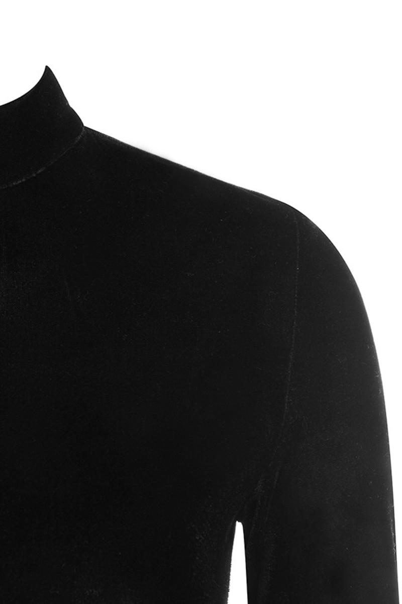 black crash dress