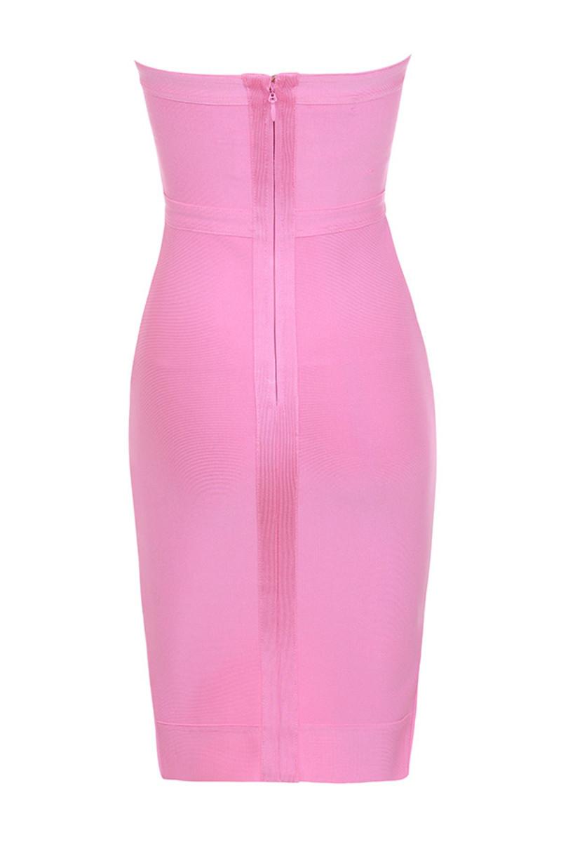 elfin dress in pink