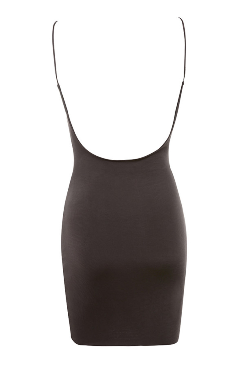 justice dress in chocolate