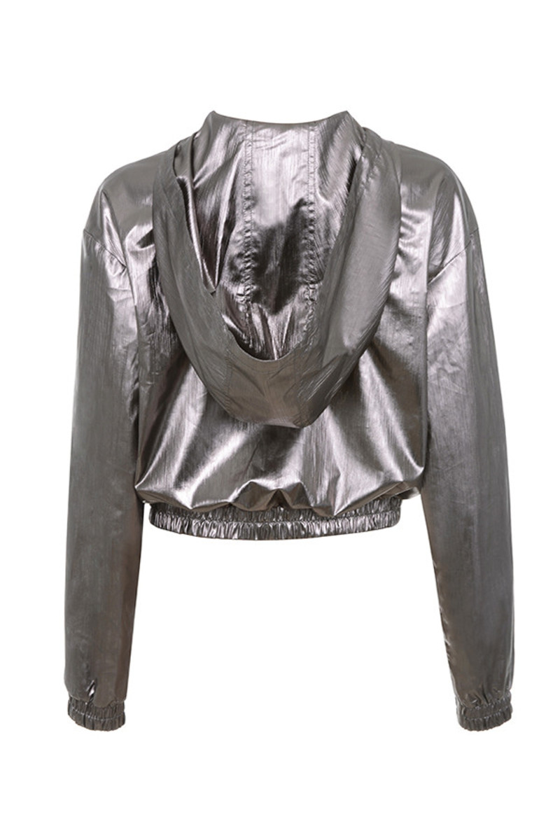 limited access jacket in pewter