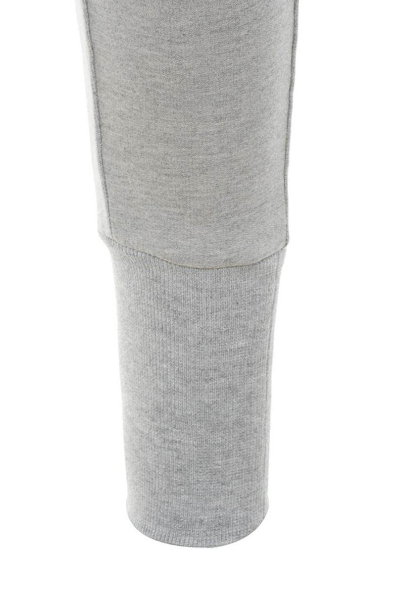 lyric in grey trousers