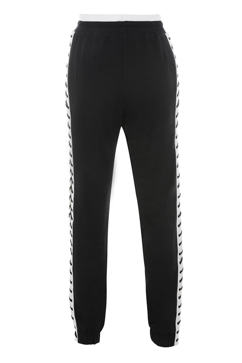 rational trousers in black