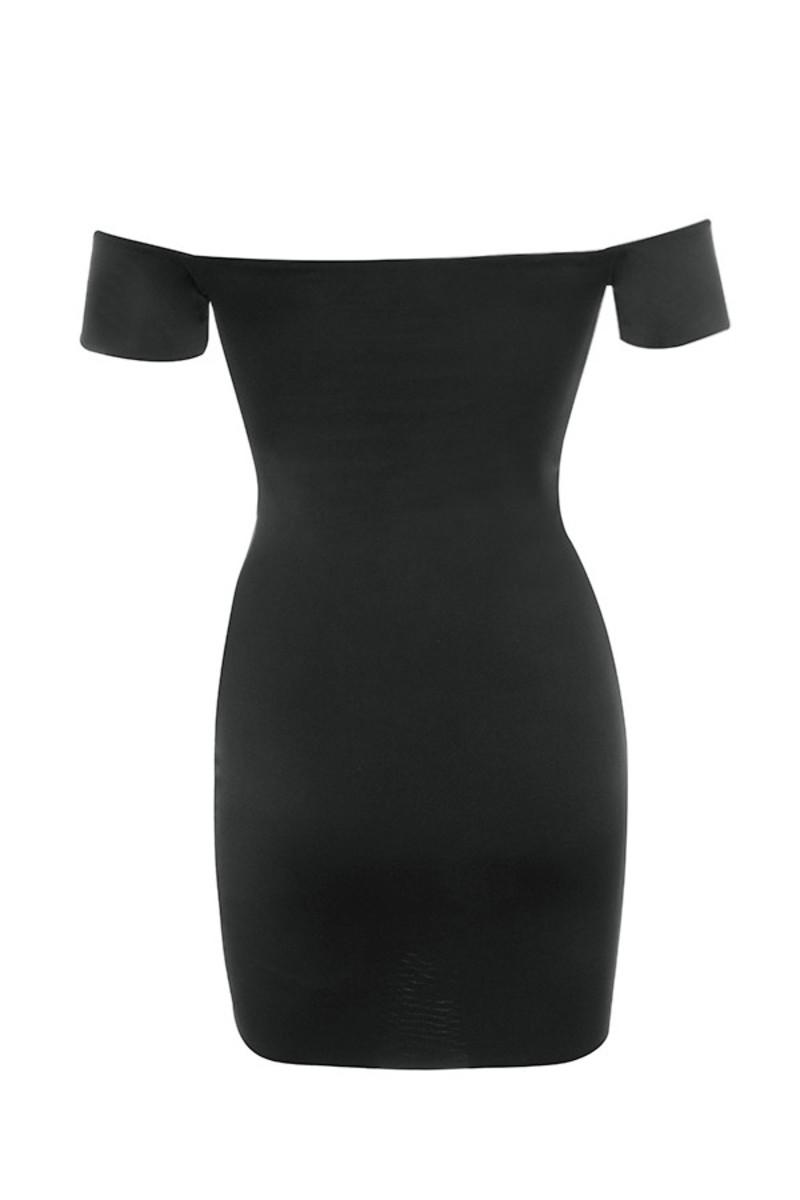 romantique dress in black